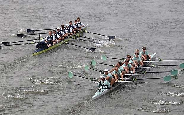 Watching the Boat Race